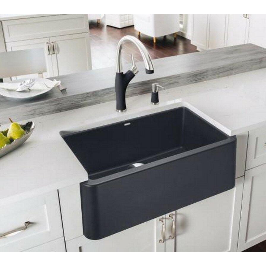Kitchen Sink Blanco Ikon 2932 X 1825 Kitchen Sink Reviews Wayfair