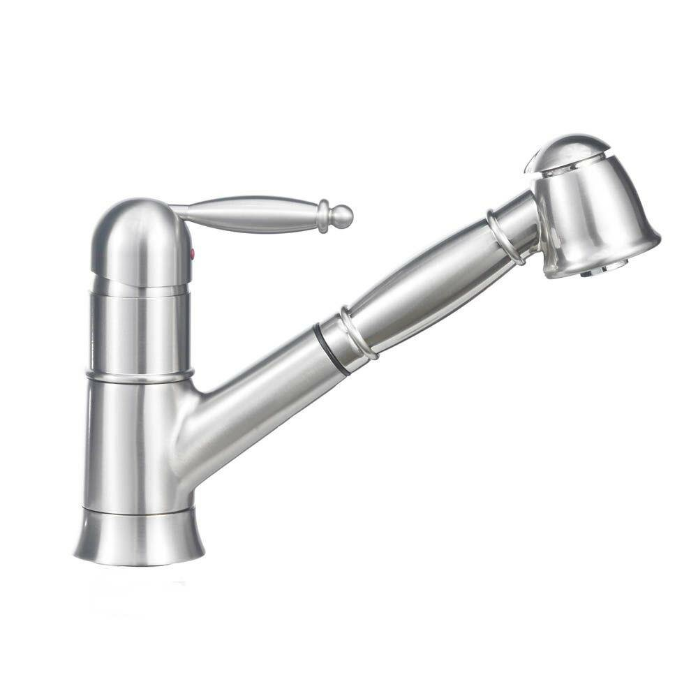 Blanco Kitchen Faucet Reviews : Blanco Grace Single Handle Deck Mounted Standard Kitchen Faucet with ...