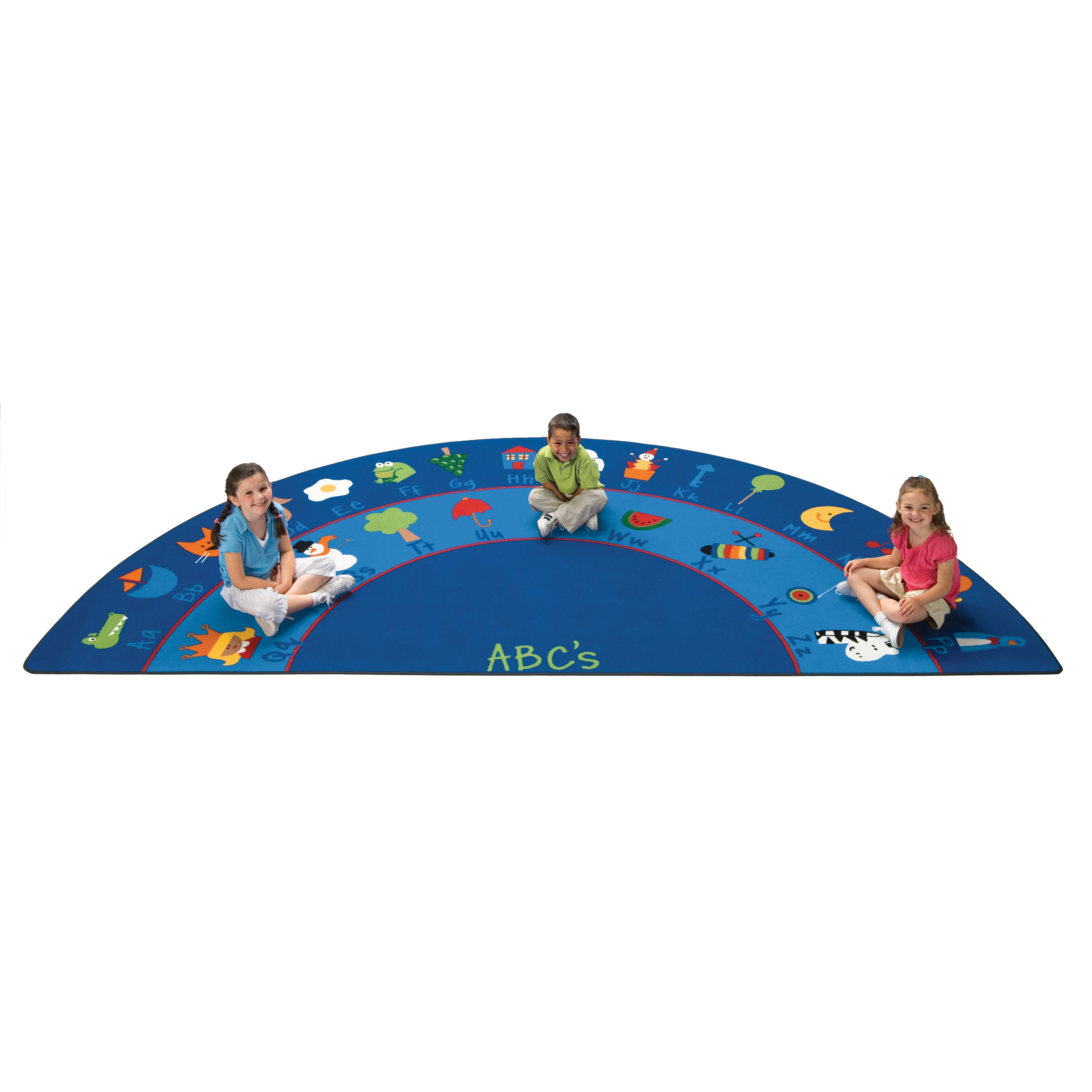 Carpets For Kids Literacy Fun With Phonics Semicircle Kids Area Rug Carpets  For Kids Literacy Fun