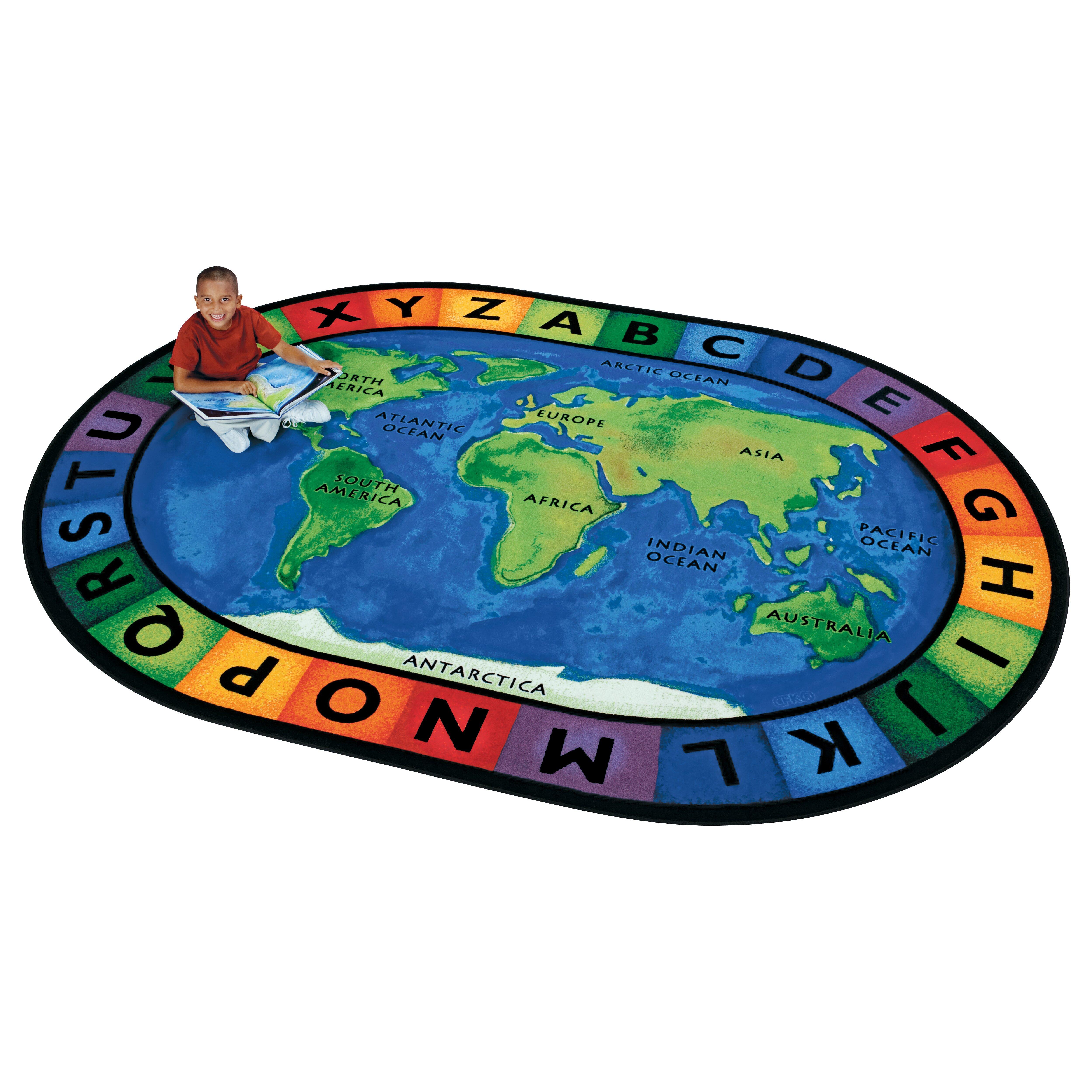 Circle time rugs roselawnlutheran educational rugs youu0027ll love wayfair sciox Gallery