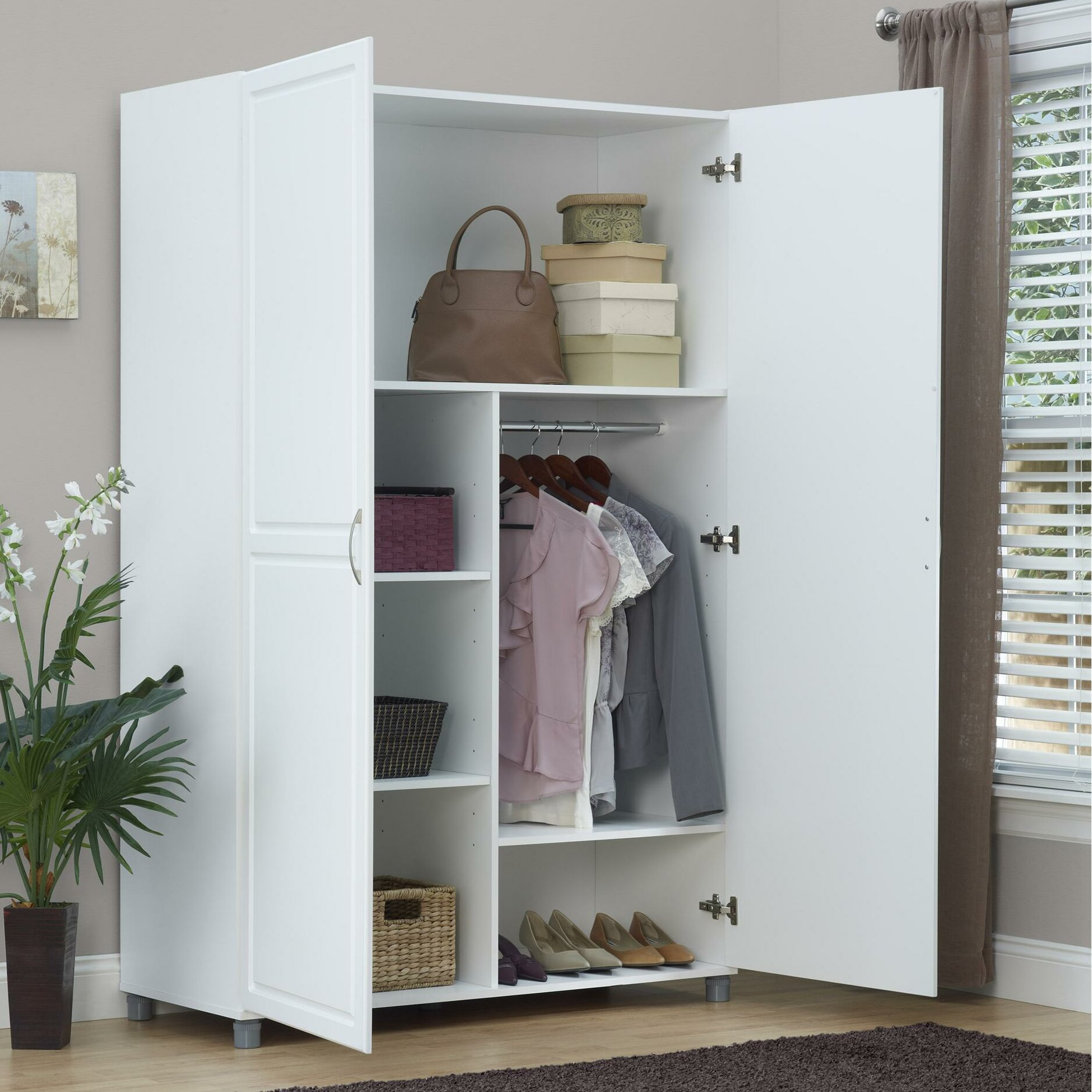 good ameriwood system build wardrobe u reviews wayfair with how to build a wardrobe closet