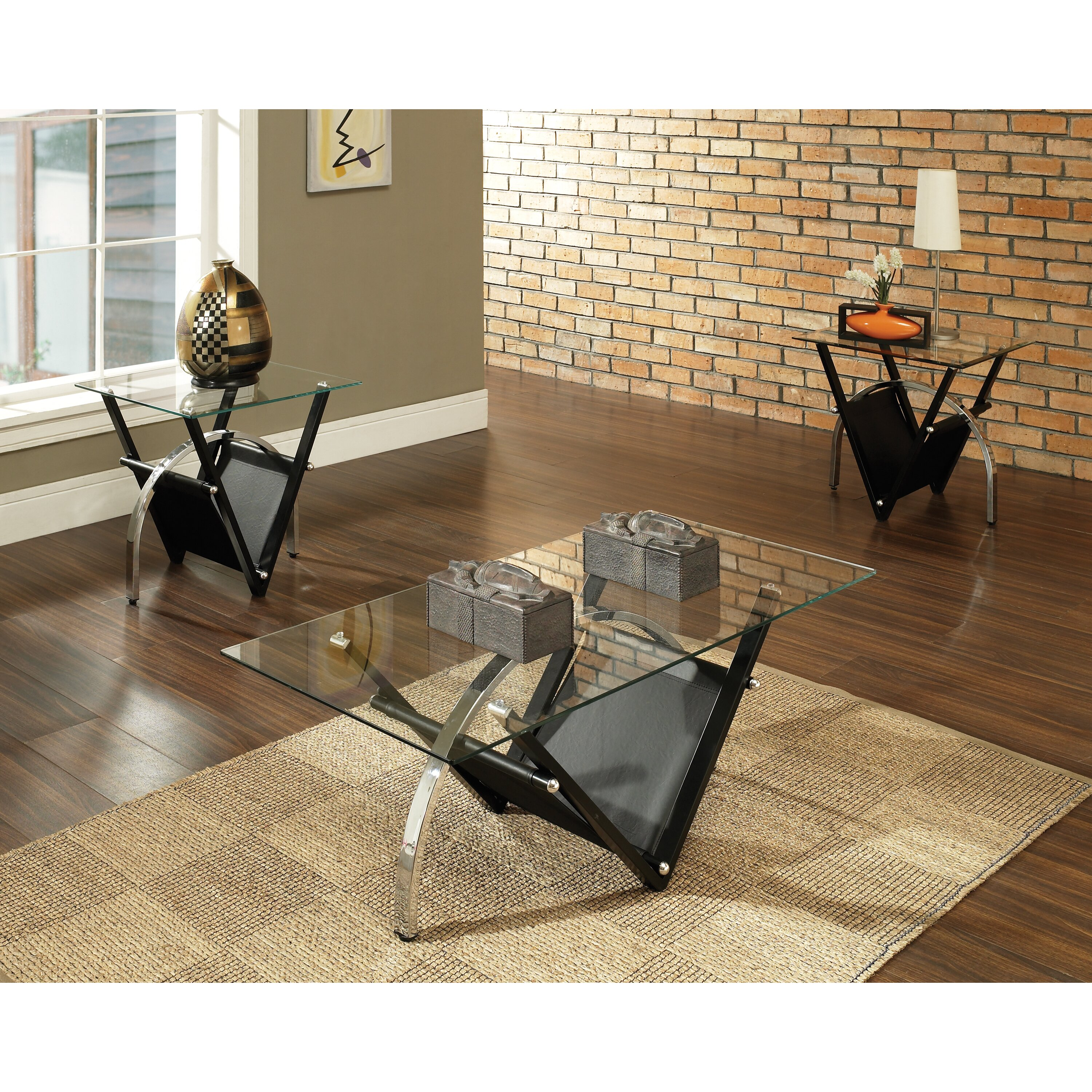 Steve Silver Furniture Complaints #28: QUICK VIEW. Tribecca Coffee Table Set. By Steve Silver Furniture