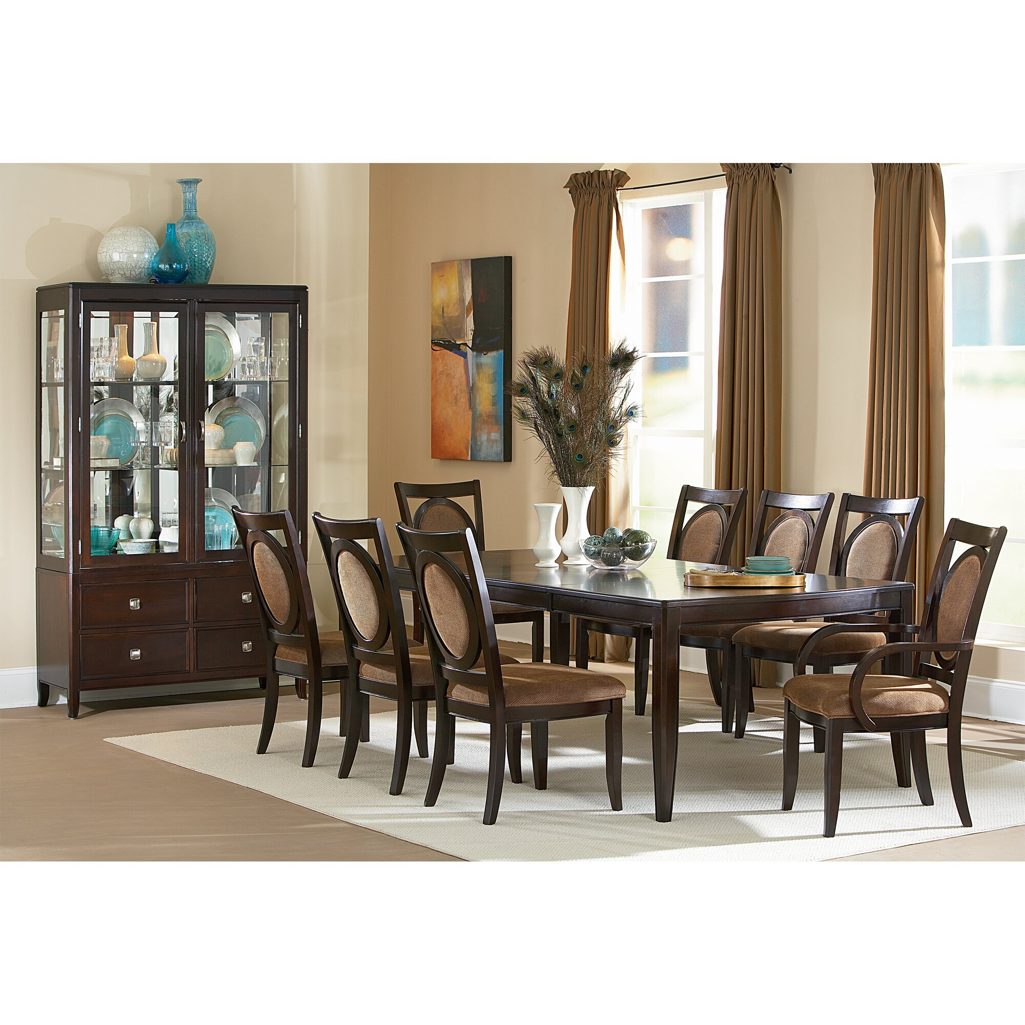 steve silver dining room wyndham dining table wd500t bob mills