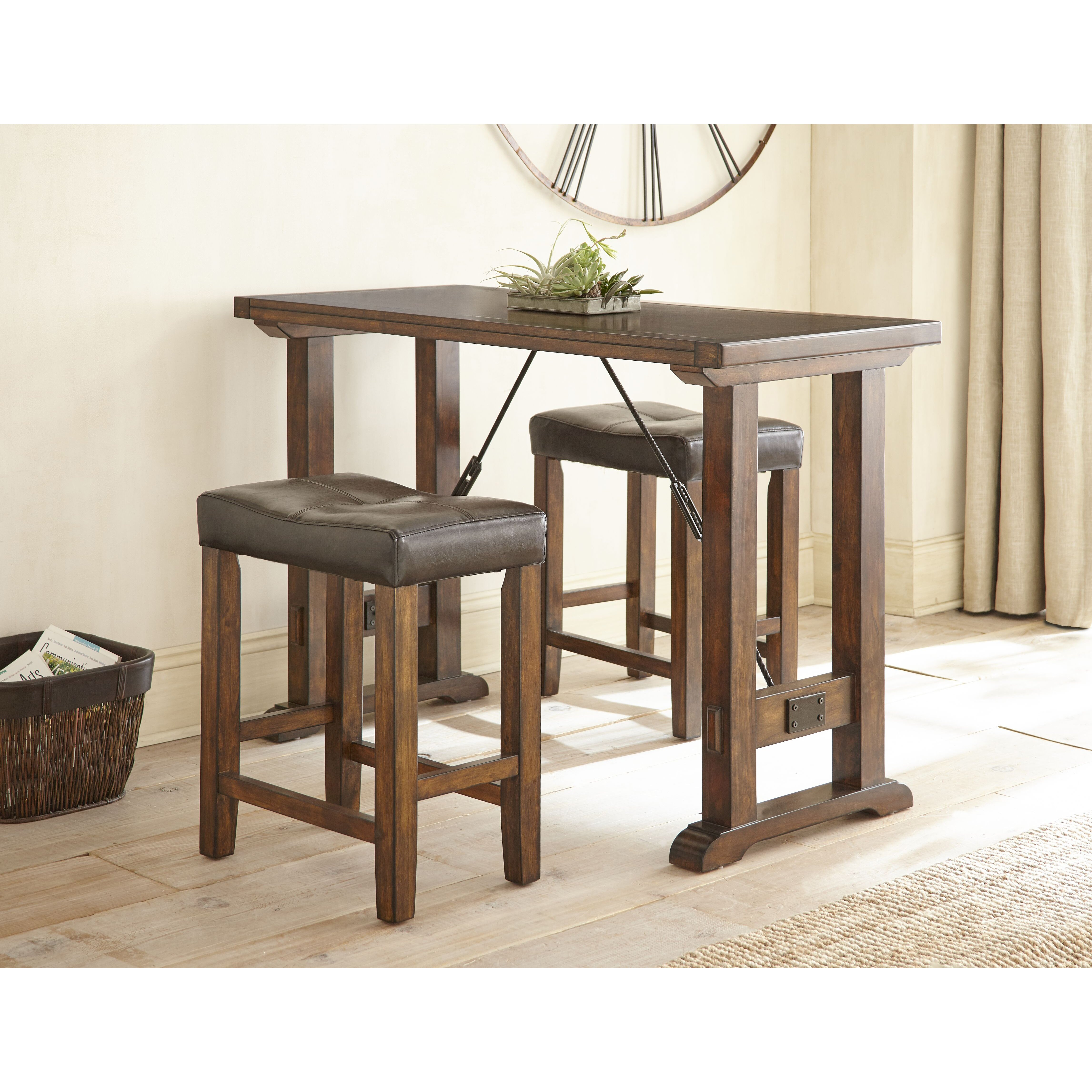 Steve Silver Furniture Colin 3 Piece Counter Height Dining Set ...
