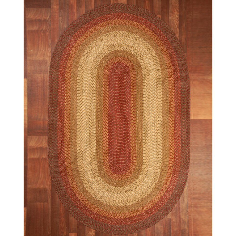 natural area rugs estilo oval 100 natural jute hand braided area rug