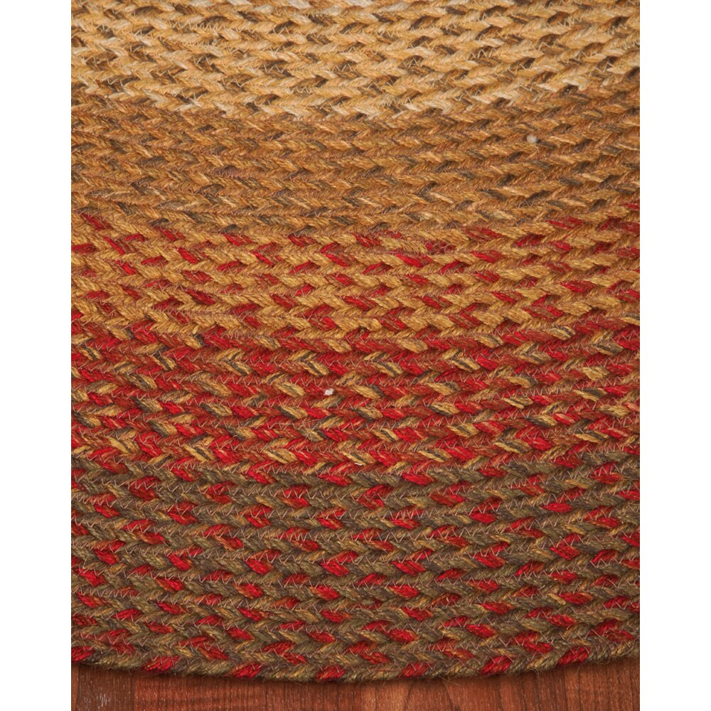 Natural Area Rugs Estilo Oval 100% Natural Jute Hand Braided Area Rug