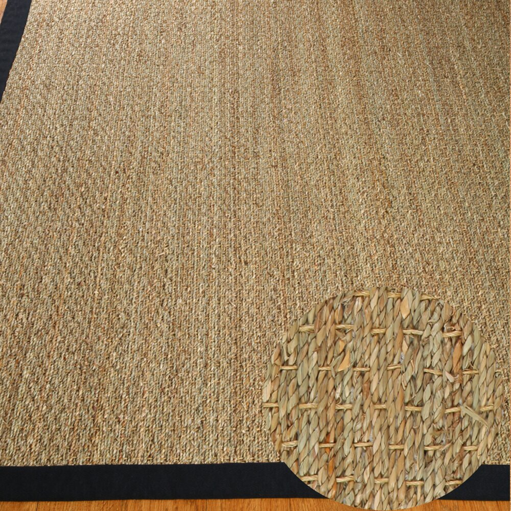 Natural Area Rugs Black Mayfair Area Rug