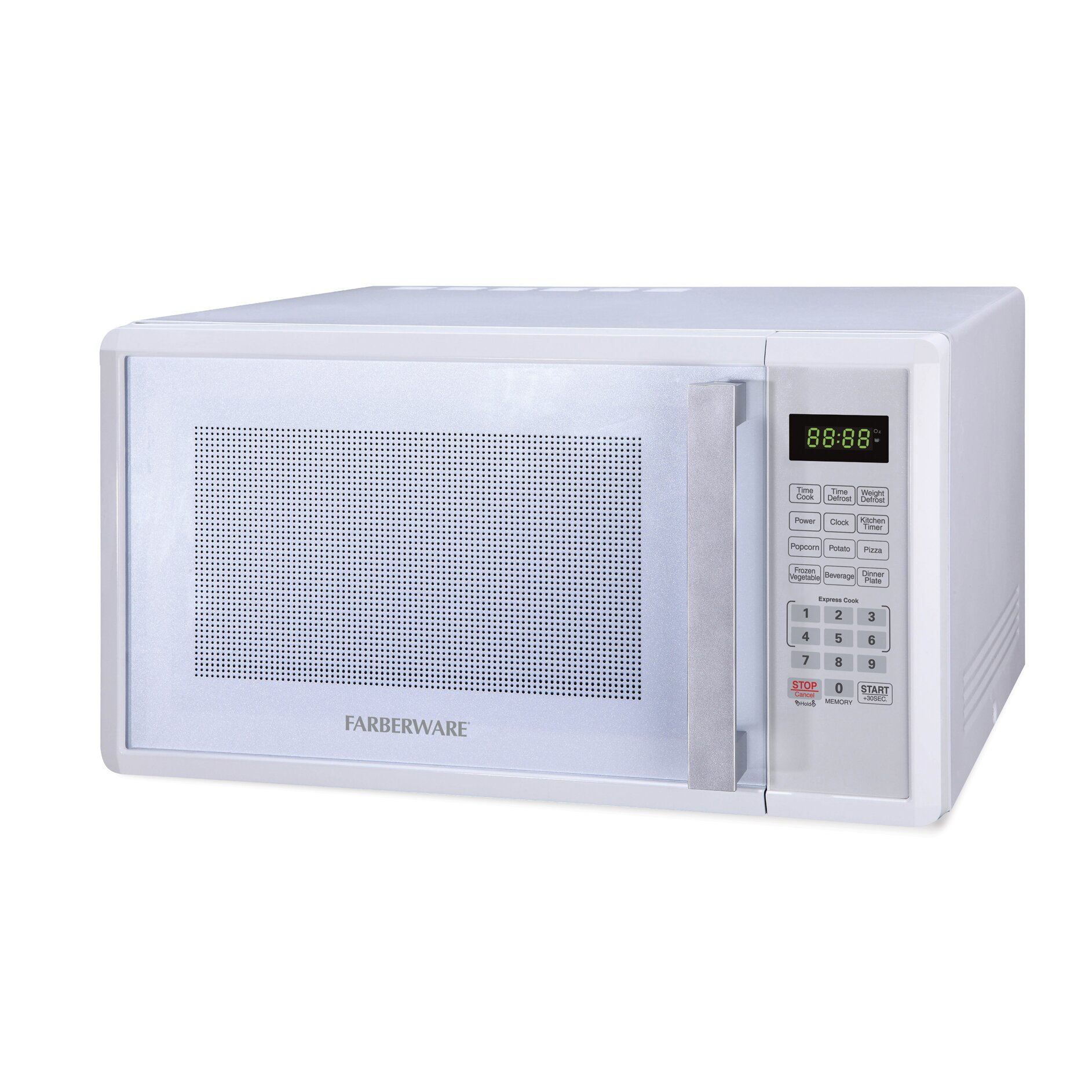 Professional 1.1 Cu. Ft. 1000W Countertop Microwave Oven by Farberware