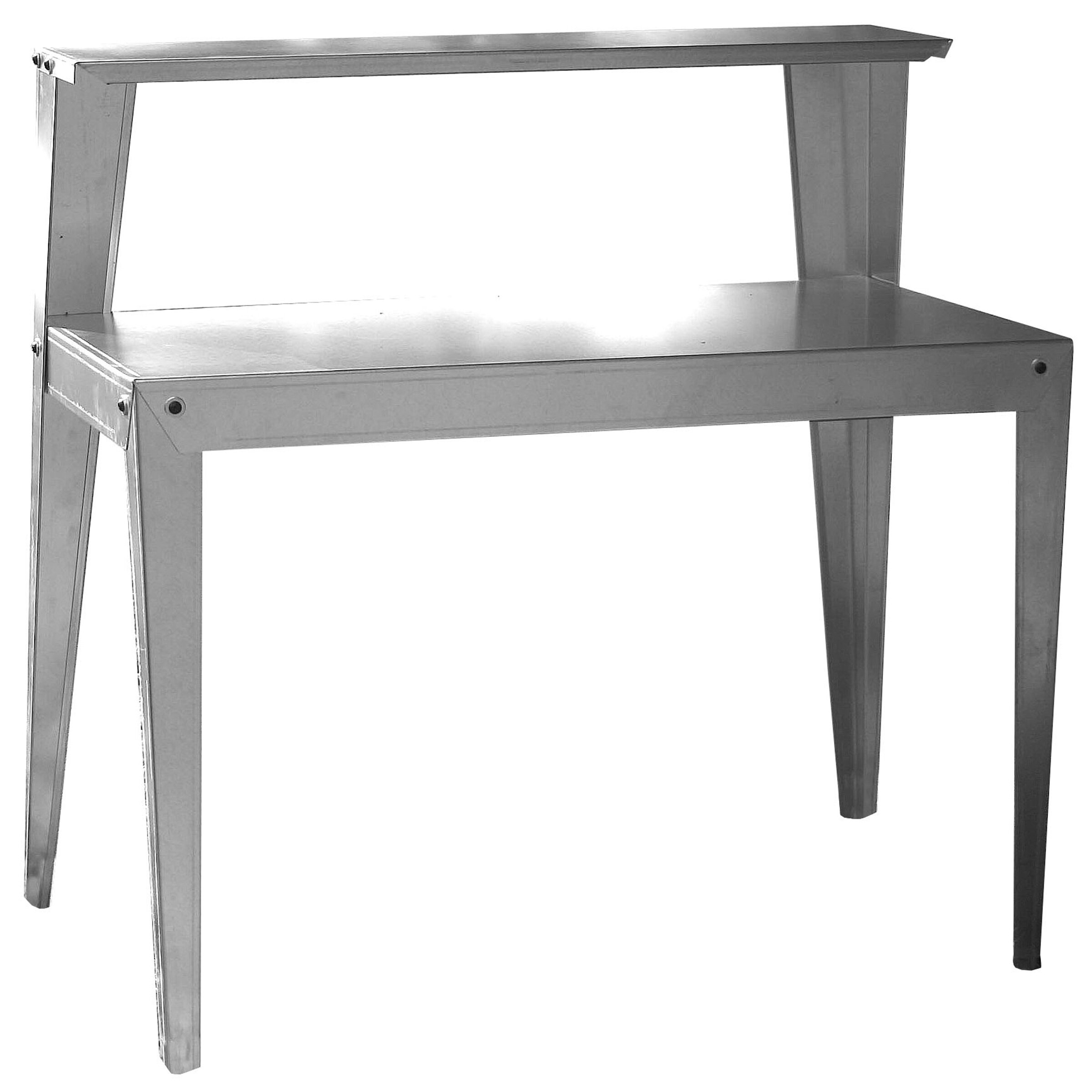 4 foot adjustable height folding table - Sportsman Series Multi Use Galvanized Steel Top Workbench
