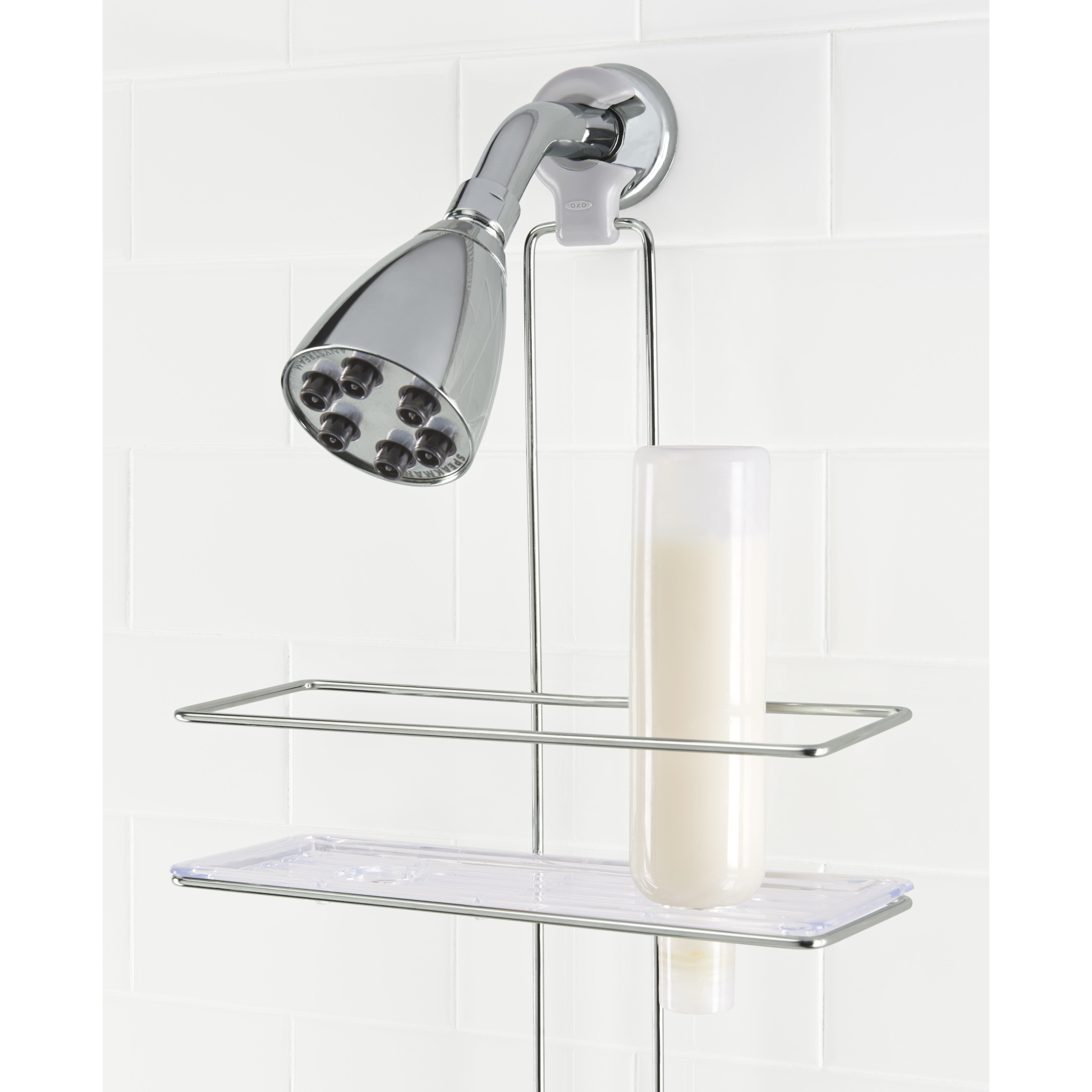 Oxo Bathroom Accessories Oxo Good Grips Shower Caddy Reviews Wayfair