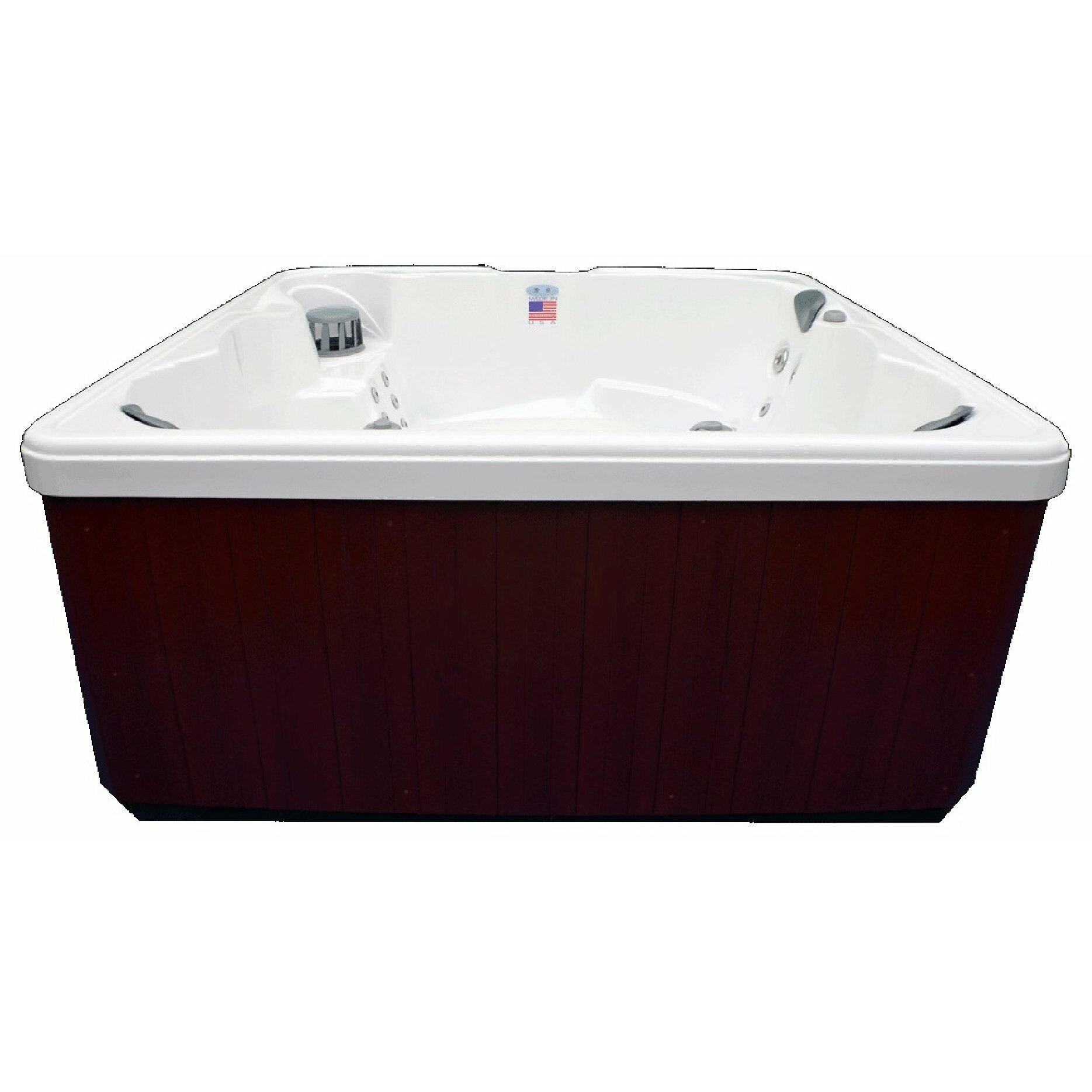 Home And Garden Spas 6 Person 32 Jet Spa With Ozone