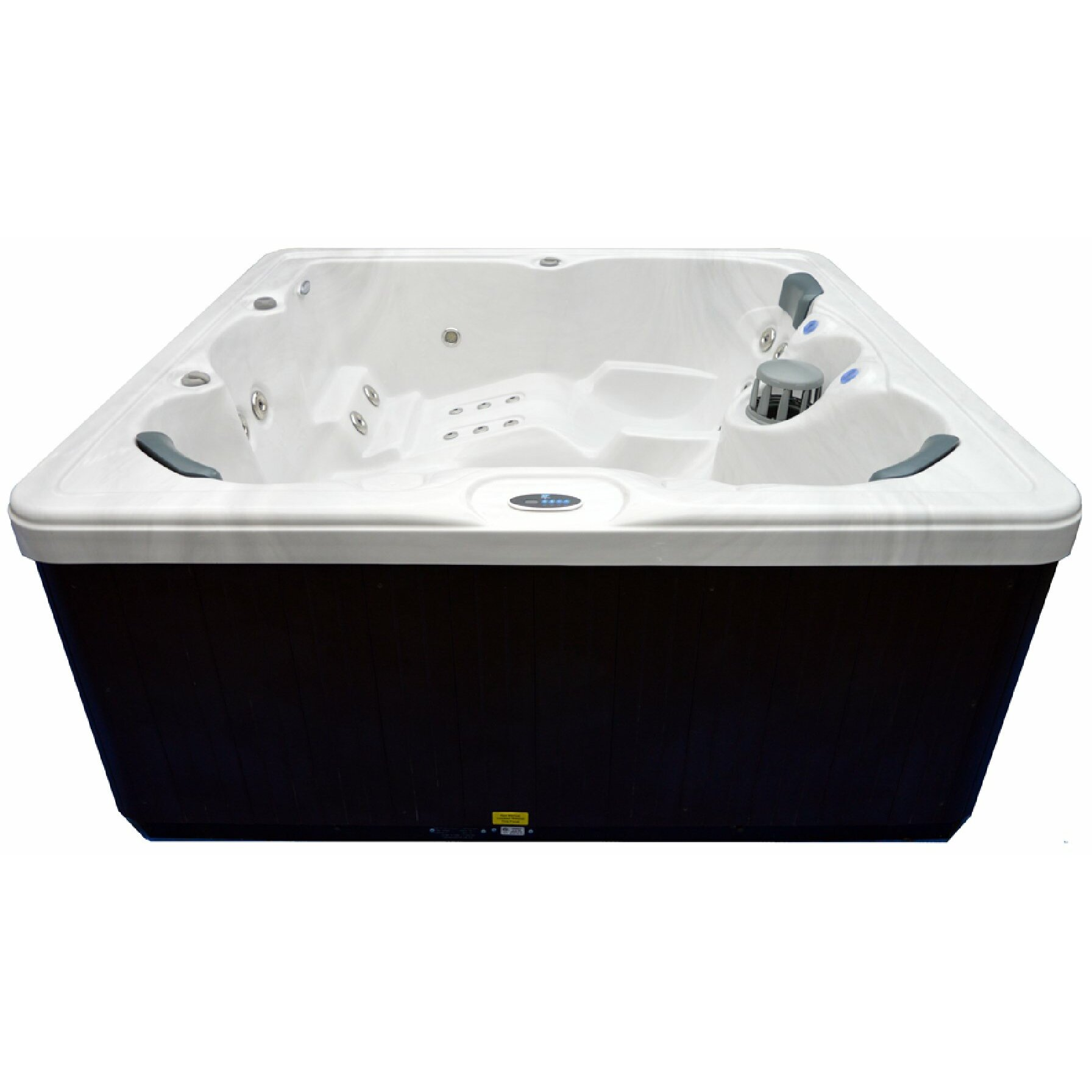 Home And Garden Spas 5 Person 51 Jet Spa With Stainless