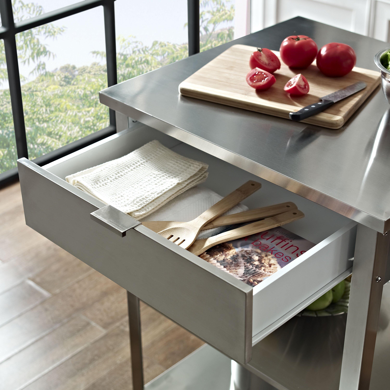 Crosley Furniture Kitchen Cart Crosley Kendall Kitchen Cart Reviews Wayfair
