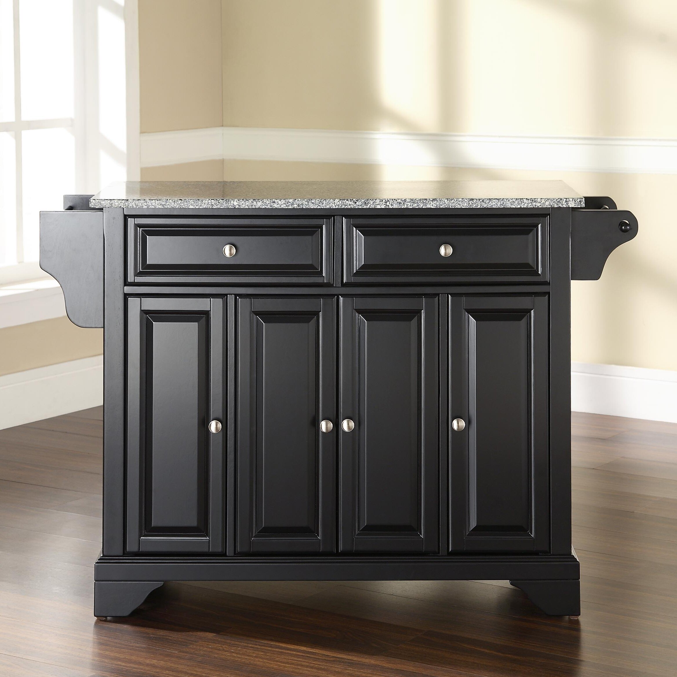 Granite Top Kitchen Crosley Alexandria Kitchen Island With Granite Top Best Kitchen