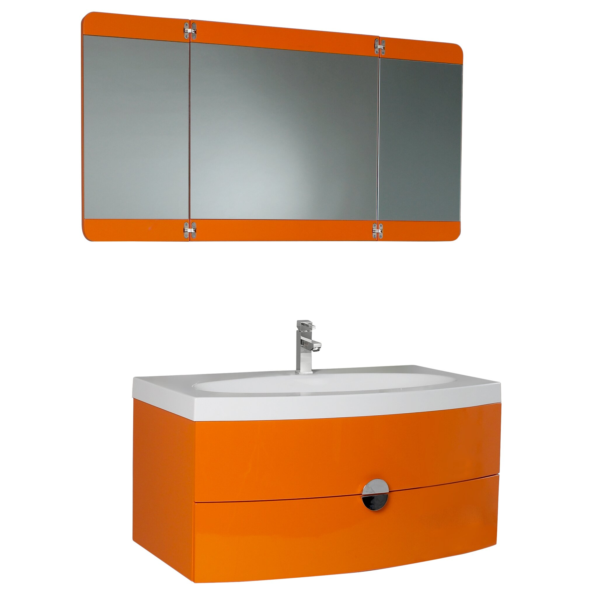 Fresca Lucido Energia 36 Modern Bathroom Vanity Set
