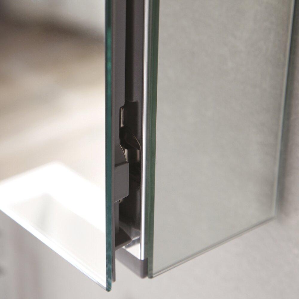 Recessed Bathroom Medicine Cabinets Fresca 395 X 2613 Surface Mount Or Recessed Medicine Cabinet