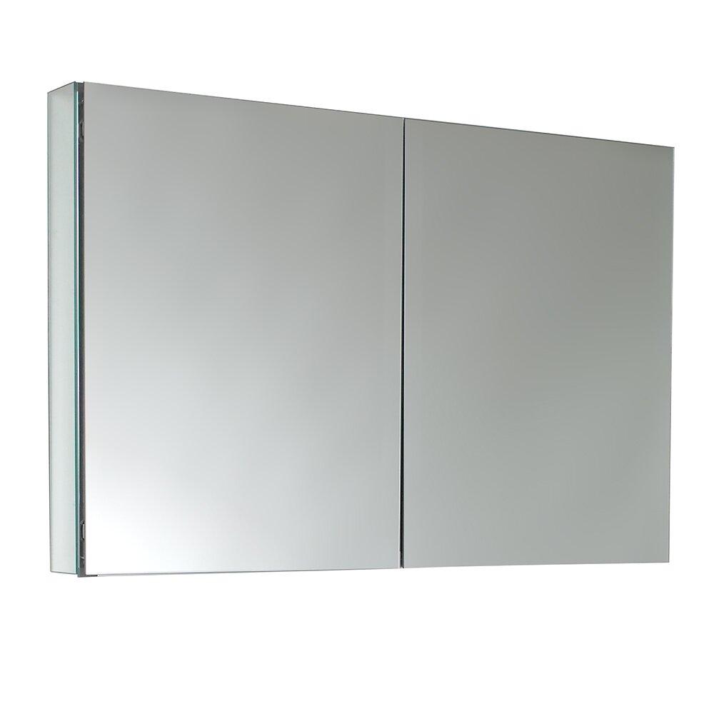 Fresca 39 5 x medicine cabinet reviews wayfair for Armoire a pharmacie miroir