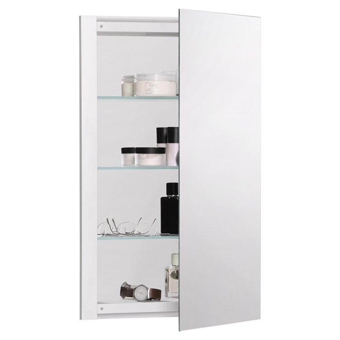 robern r3 series 20 x 26 recessed beveled edge medicine cabinet