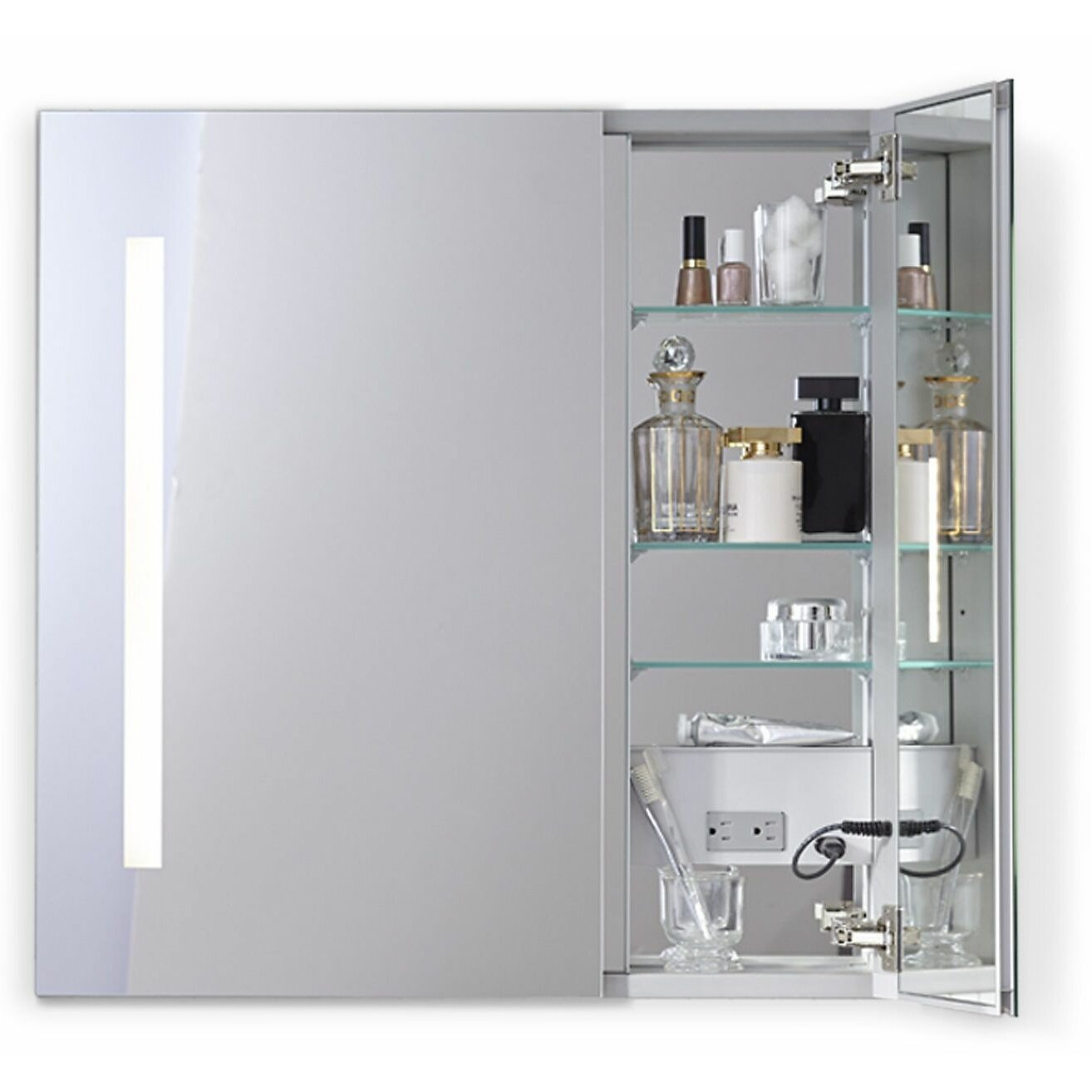 30 X 30 Medicine Cabinet Robern Aio 2925 X 30 Recessed Medicine Cabinet Wayfair
