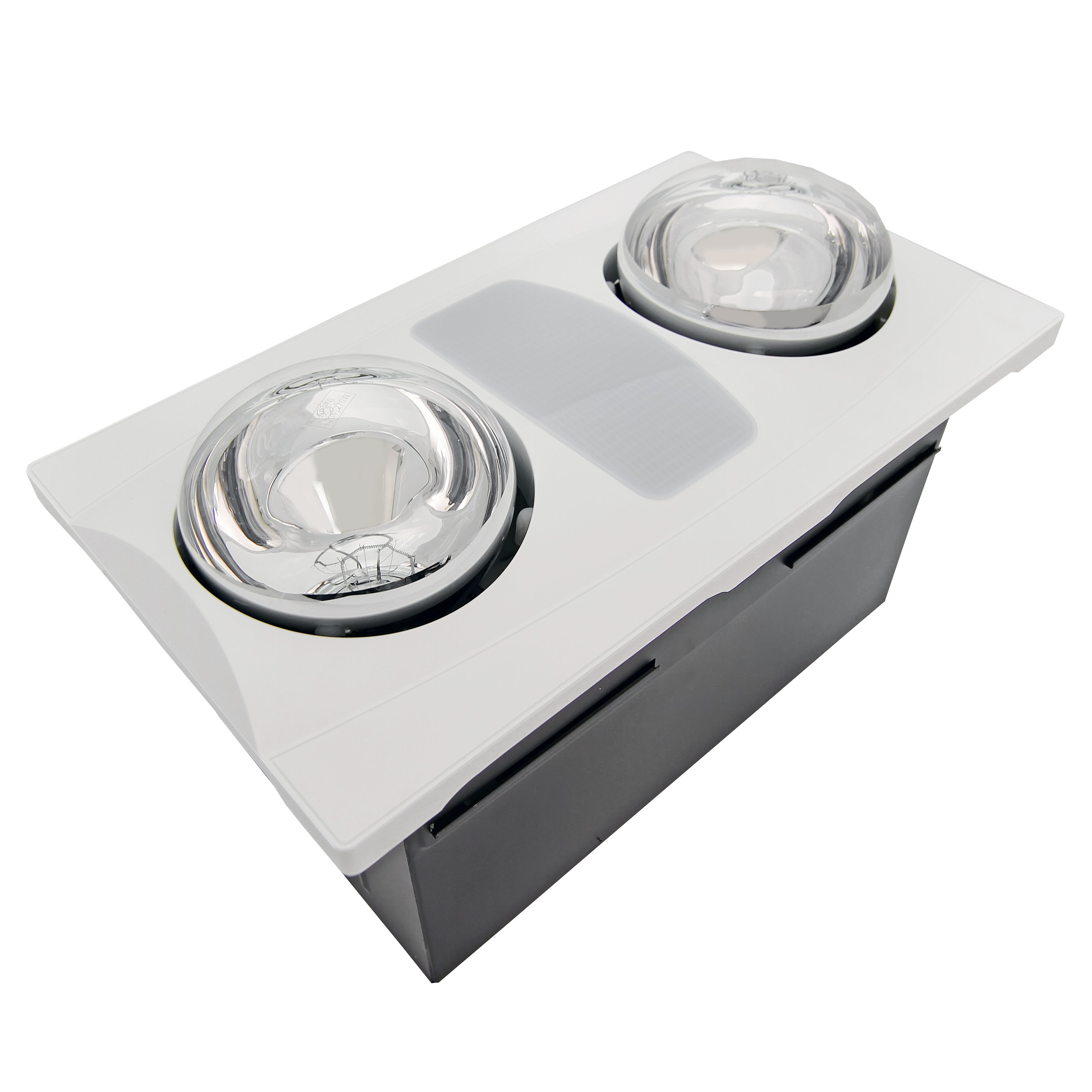 Infrared Bathroom Light Aero Pure 80 Cfm Bathroom Fan With Heater And Light Reviews