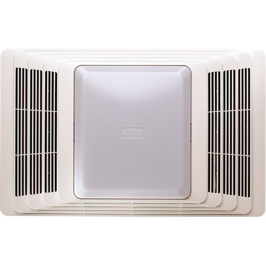 Broan 50 CFM Bathroom Fan and Heater with Light & Reviews | Wayfair