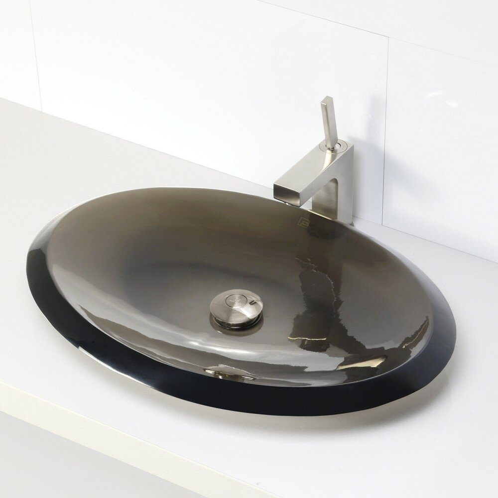 Decolav Sinks : DECOLAV Incandescence Oval Vessel Bathroom Sink & Reviews Wayfair