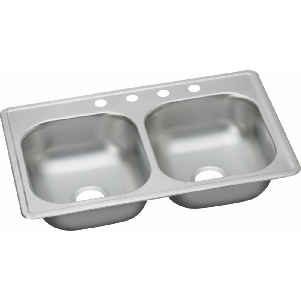 Small Double Kitchen Sinks Drop In Kitchen Sinks Youll Love Wayfair