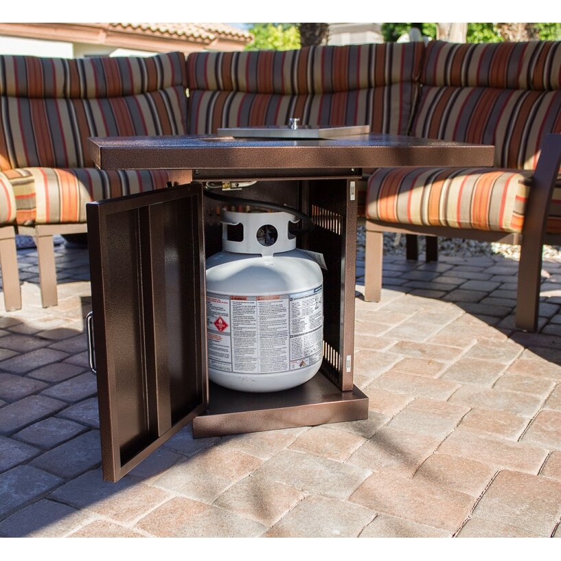Az Patio Heaters Steel Propane Fire Pit Table Amp Reviews