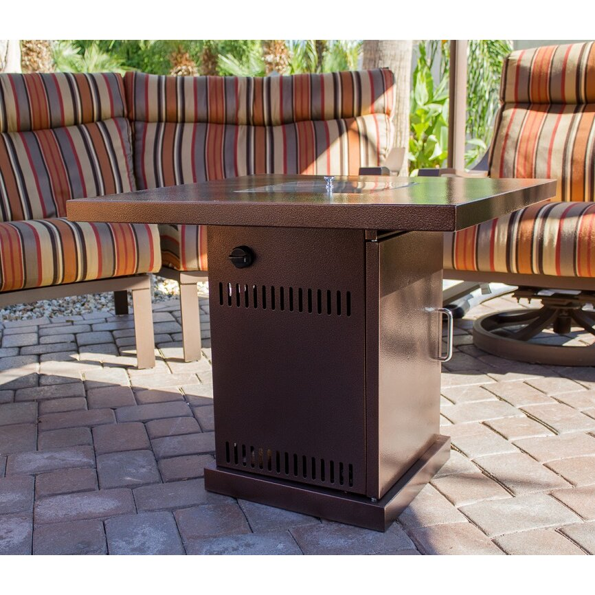Az Patio Heaters Steel Propane Fire Pit Table Amp Reviews